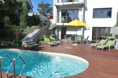 Ferienwohnung am Pool - die grüne Oase in Würzburg - Würzburg