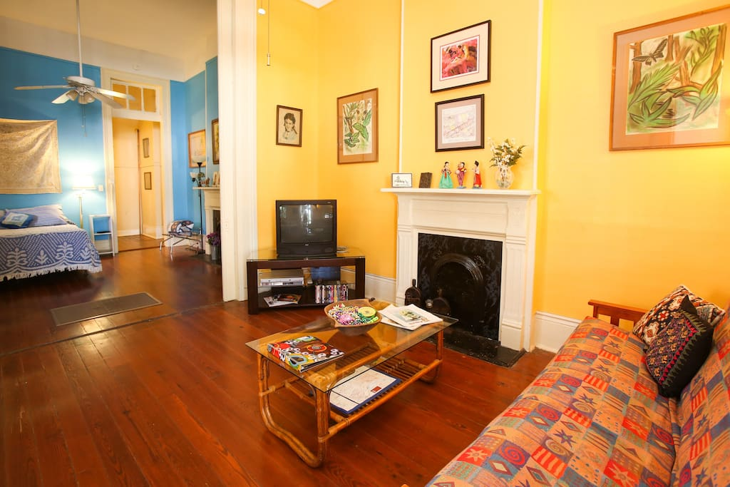 A comfy space from which to explore the Big Easy.