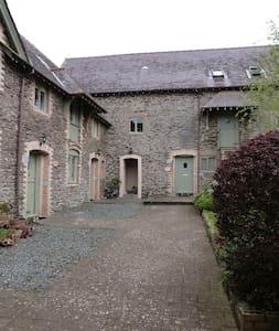Charming Victorian barn conversion - Noss Mayo - Huis