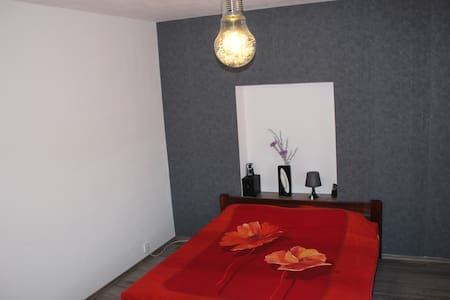 Spacious private room near airport - Dom