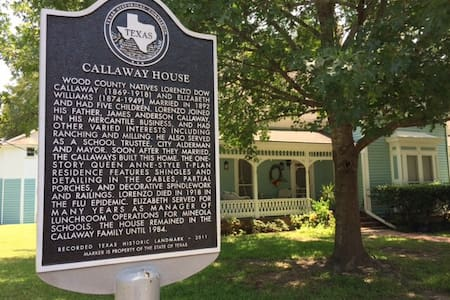 The Callaway House circa 1892 - Mineola - Casa