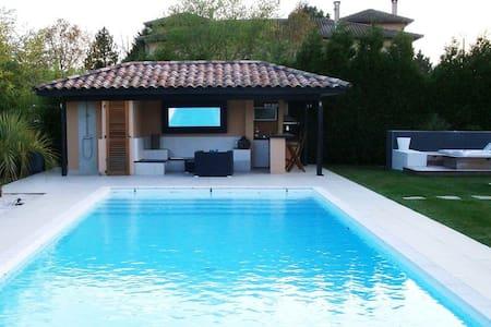 Villa Piscine et Spa(hot tube)15kmToulouse centre - Lapeyrouse-Fossat - Ev