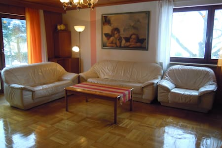 4-Zi Große Wohnung nahe Bayreuth - Appartement