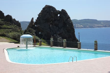 CASA VACANZE  VISTA MARE + PISCINA - Townhouse