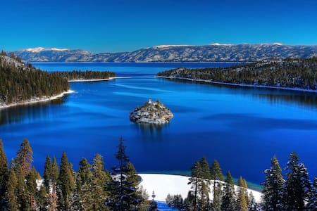 Tahoe City 2bd/1.5ba ski condo. - Tahoe City - Ortak mülk