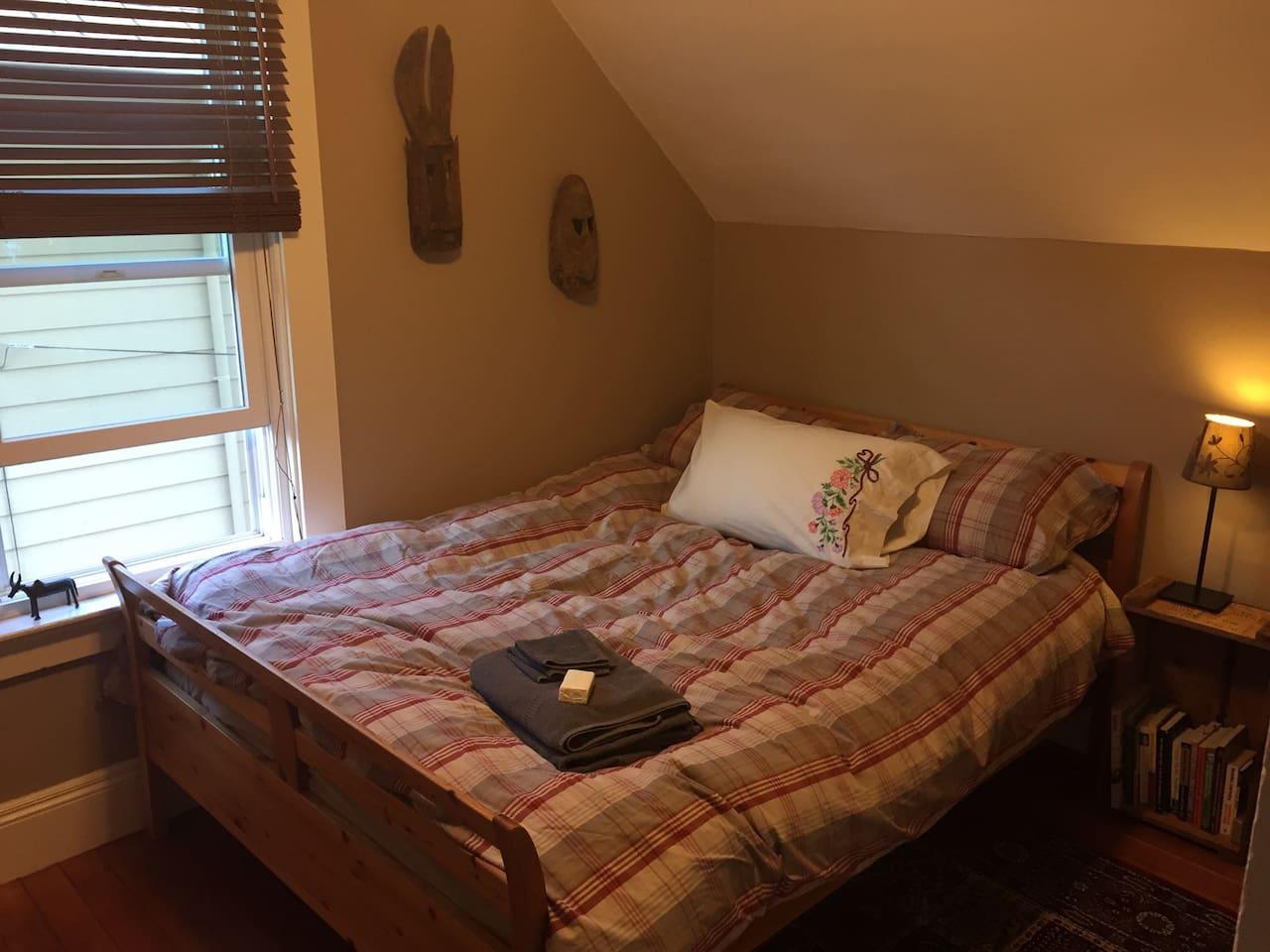 Cozy upstairs room