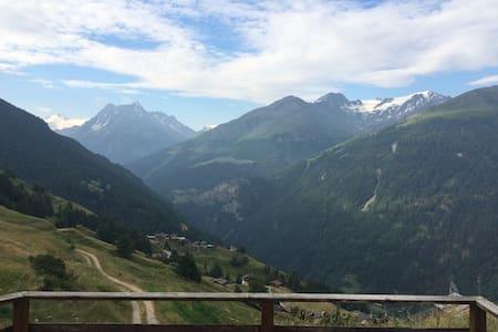 Petit chalet de montagne - Saint-Martin