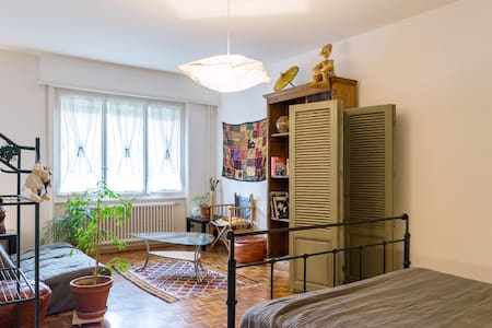 Cosy Spacious Private Double Room - Pully - Wohnung