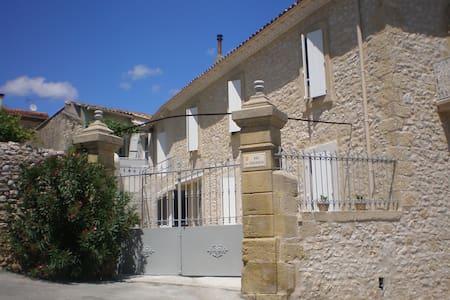 La maison de papé gite Terrasse - Combas
