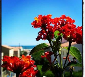 Appartement avec vue, proche plage - Saint Pierre La Mer - Appartement