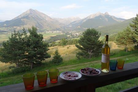Superbe chalet en pleine montagne - Ev