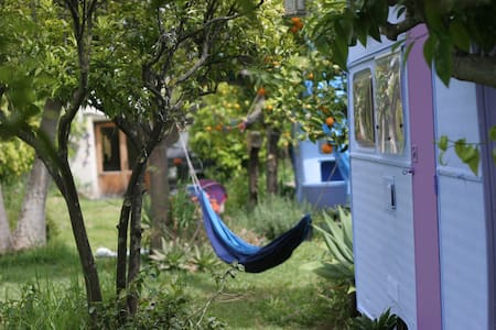 Secluded Orchard Dwelling - Estepona - Camper/RV