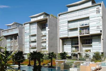 Habitación privada con cama individual - Apartament