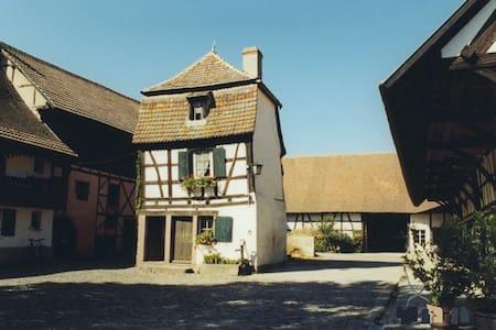 Chambre dans maison alsacienne rénovée - House