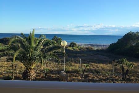 Hab. 2 camas en 1ª línea de playa - Torreblanca - Dom