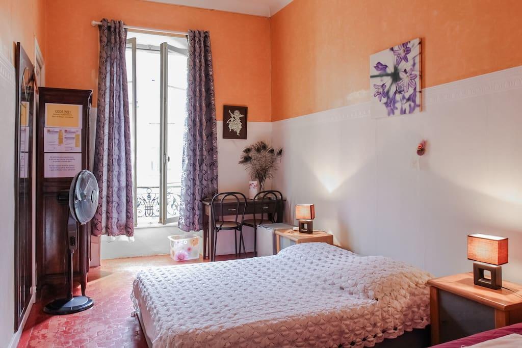 excellente chambre proche de tout appartements louer nice. Black Bedroom Furniture Sets. Home Design Ideas