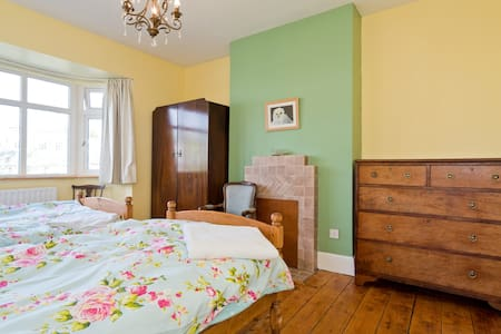 Twin Double Bedroom in Rathmines - Dublín - Casa
