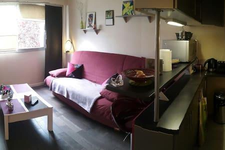 Studio bon état // centre ville - Appartement