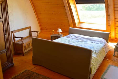 Wood round turning house - Martigny-sur-l'Ante - Bed & Breakfast