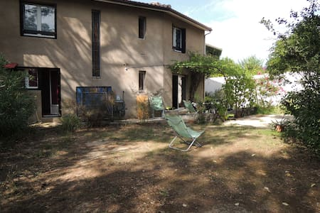 Maison conviviale jardin + terrasse - Huis