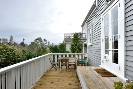 Cute flat close to Parnell Village - Auckland - Pis