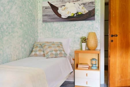 GLI OLEANDRI B&B: Stanza Verde - Bed & Breakfast