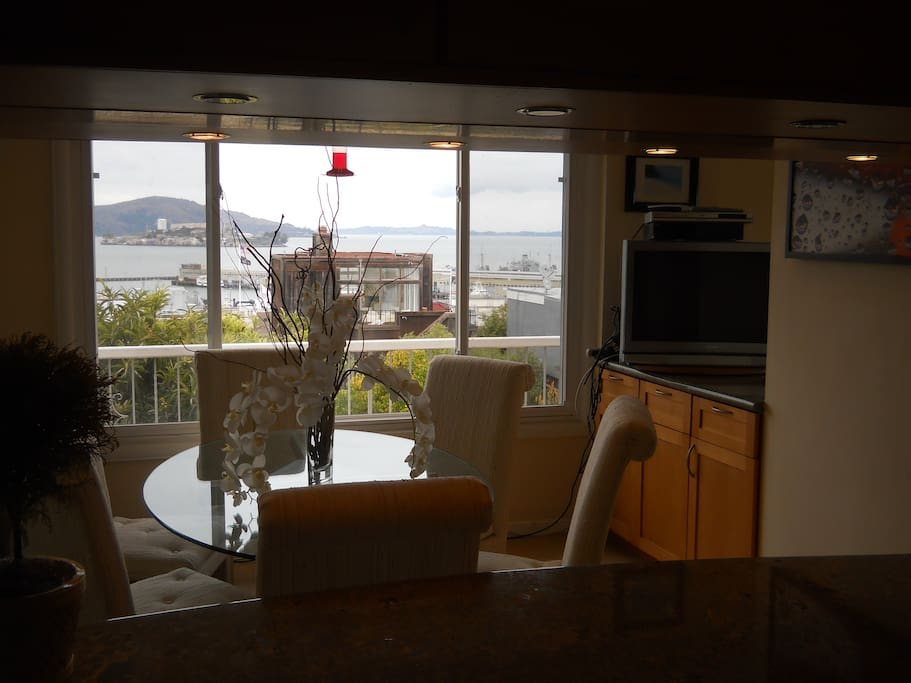Dining Room with North Bay Alcatraz View