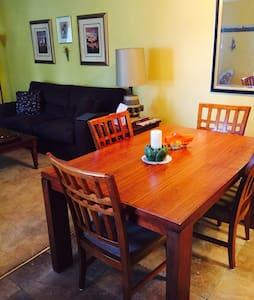 Room type: Entire home/apt Property type: Condominium Accommodates: 4 Bedrooms: 2 Bathrooms: 2