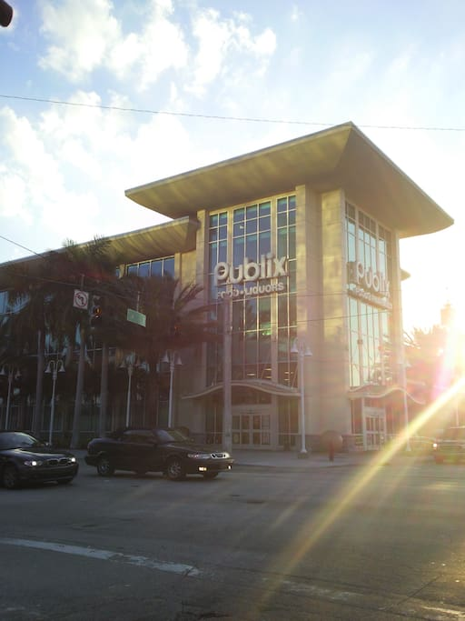 Publix is the nearest Supermarket & is in the Legal district of Downtown