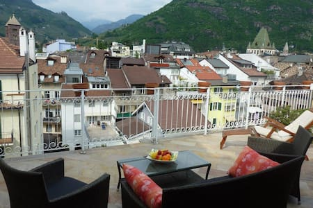 Apartment with large roof-terrasse - Apartment