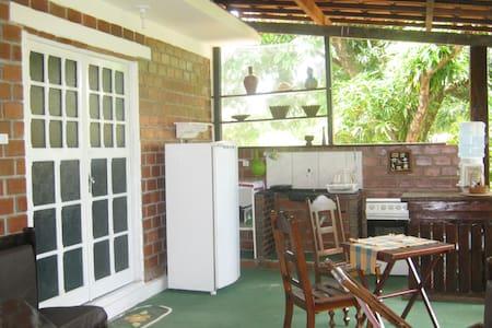 suite casal com varanda no verde - Apartamento