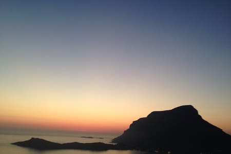 Kalymnos Sunset Villa for Climbing - Talo
