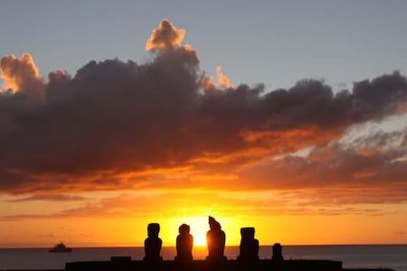 maison typique 80m² 200m tahai - Easter Island - Hus