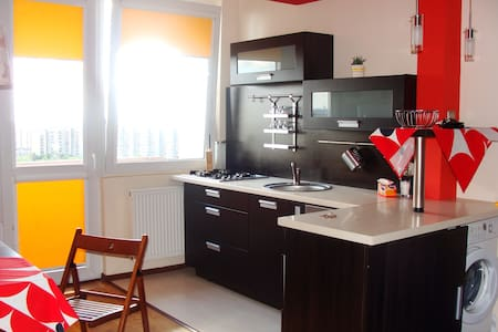 2 bedroom apart. in Tychy centre - Lägenhet