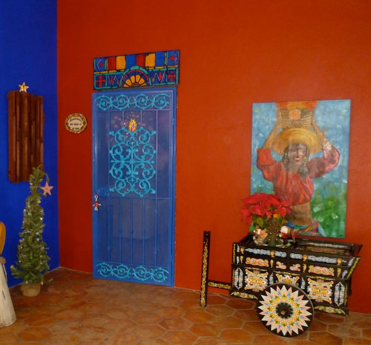 ENTRY TO CASA ALEGRIA