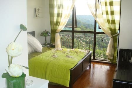 With Taal Volcano Panoramic View - Condominium