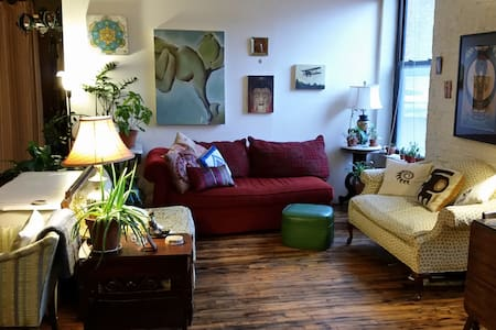 Colorful Artist Loft w. your own Ocean Oasis - Brooklyn - Loft