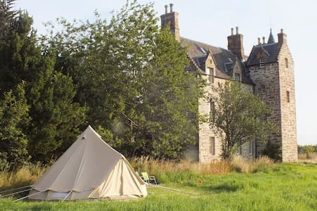 Belltent Glamping at Illieston Castle, nr Airport - Broxburn - Tält