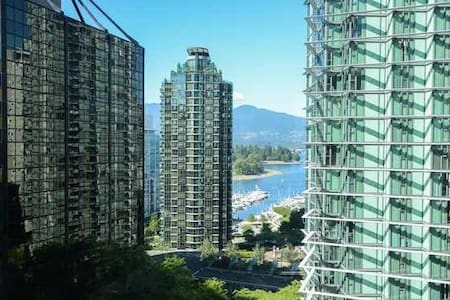 Beautiful Coal Harbour View Studio