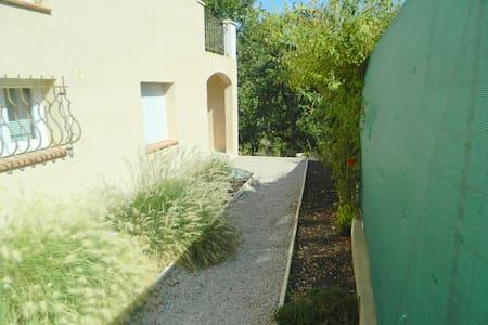 apartment in villa + garden