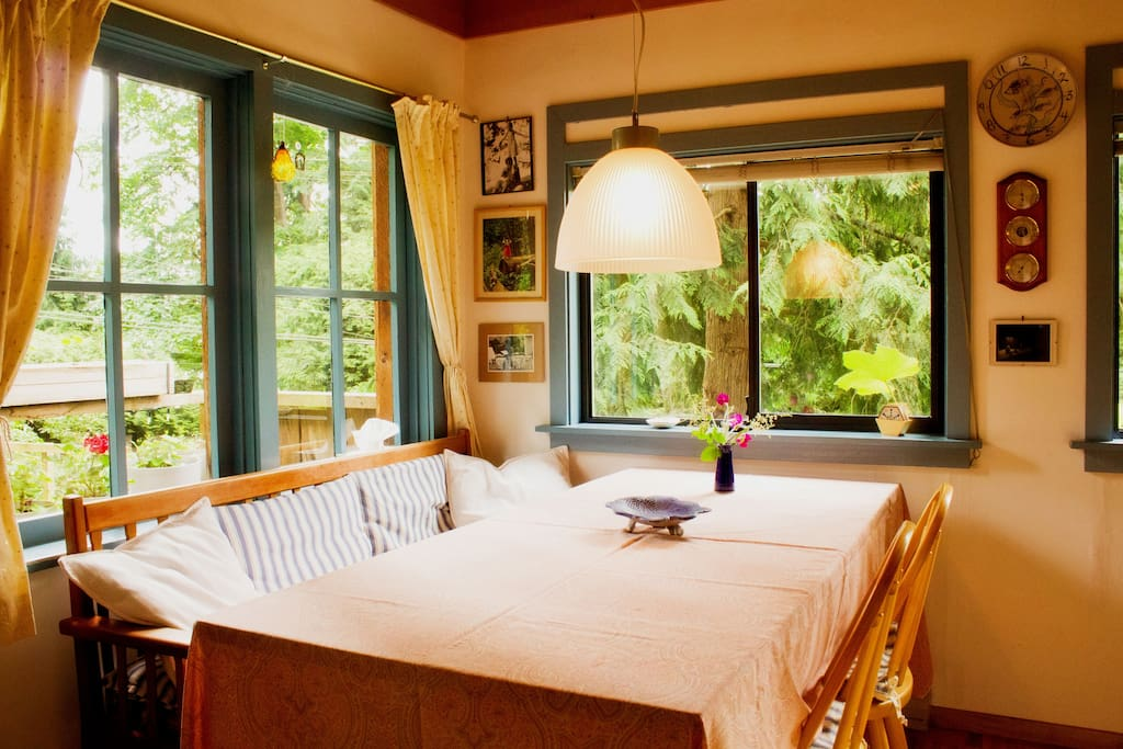 Seven Hills B&B on Bowen Island