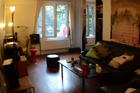 Bedroom nearby Paris 20th - Wohnung