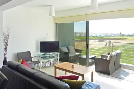 Quiet luxury 2bed/WiFi/rooftop/pool - Perivolia - Byt