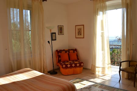 B&B A Casa Mia - Orange Room - Bergamo