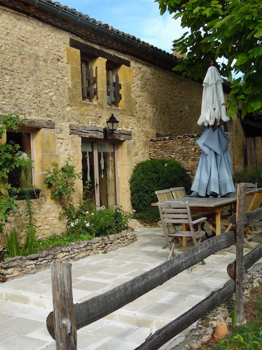 Beautiful character house in a quie