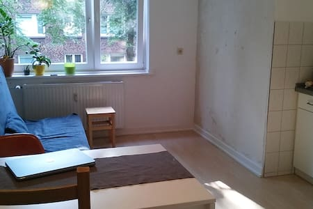 Empty flat w. sofabed, near centre!