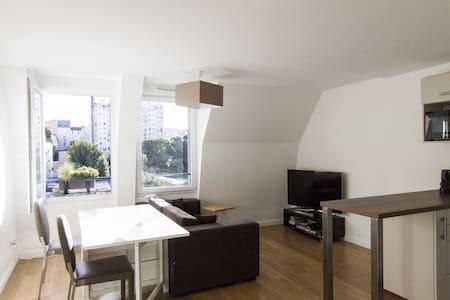 Brand New - 47sqm - 15' Paris - Apartamento