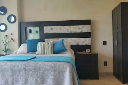 Cozy and modern studio on the beach - Cancun - Appartamento