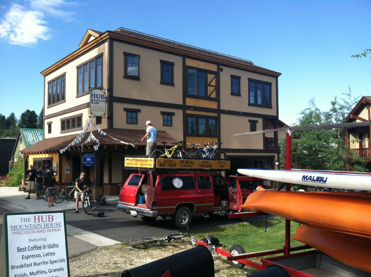 The HUB - your basecamp in McCall!