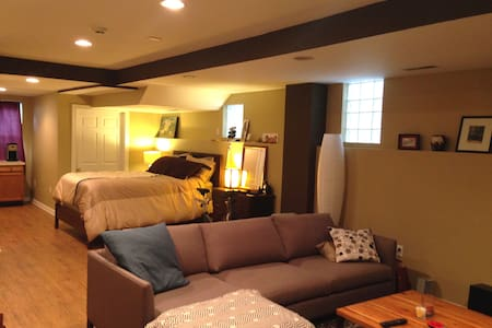 Your Own Studio in Trendy Tremont - Cleveland - House